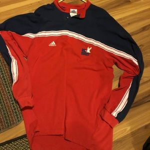 Adidas Vintage VTG 90s USA RUGBY Shirt Longsleeve